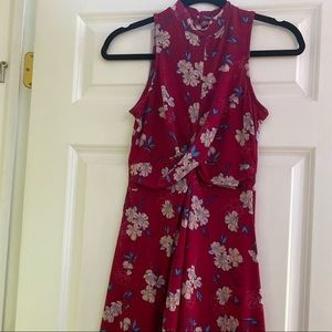 Pink floral dress from Target